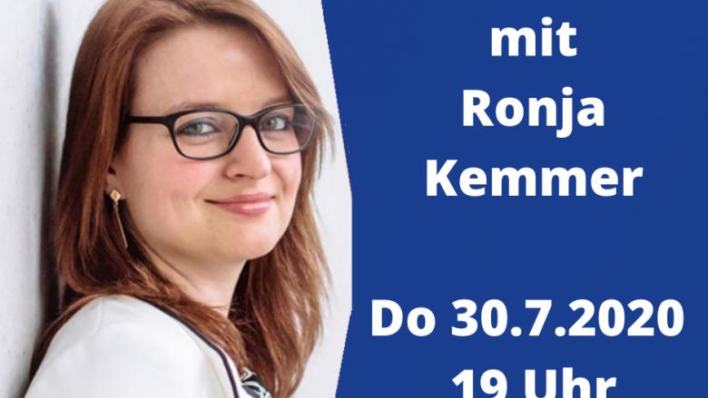 Facebook-Live-Video mit Ronja Kemmer