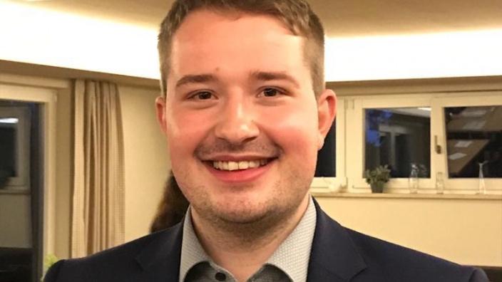 Lukas Siegle wird ab 1. Oktober neuer Kreisgeschäftsführer der CDU Alb-Donau/Ulm